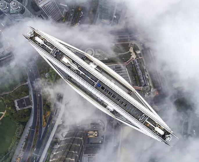 俯瞰国内一些大型城市的特色建筑体,美呆了!