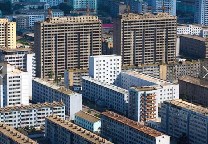 在朝鲜,老百姓住什么样的高层住宅?公寓居多鲜有阳台